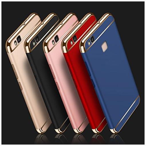 Custodia Huawei P9 Lite, Yoowei Cover Huawei P9 Lite 3 in 1 Alta ...
