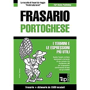 Frasario Italiano-Portoghese e dizionario ridotto