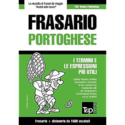 Frasario Italiano-Portoghese E Dizionario Ridotto Da 1500 Vocaboli