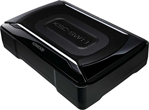 Kenwood KSC-SW11 150W Underseat Active Subwoofer with Passive Radiator