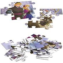 Lisciani Giochi 49295 - Frozen The Iceland Puzzle Doppia Faccia Plus, 60 Pezzi