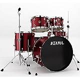 Tama Rhythm Mate RM52KH5 WR 5 Piece Drum Set, Wine Red