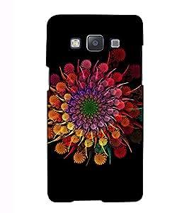 Fuson Designer Back Case Cover for Samsung Galaxy A3 (2015) :: Samsung Galaxy A3 Duos (2015) :: Samsung Galaxy A3 A300F A300Fu A300F/Ds A300G/Ds A300H/Ds A300M/Ds (Colourful sparkles theme)