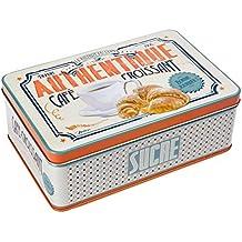 Natives 411280 café-Croissant – Caja metálica para azúcar ...