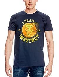 Team T-Shirt für Pokemon Go Fans von Elbenwald Baumwolle navy