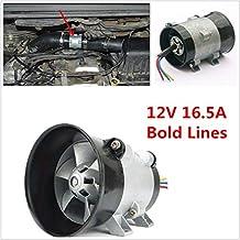 Cargador turbo eléctrico universal para coche, ventilador de entrada de aire Tan Boost 12 V