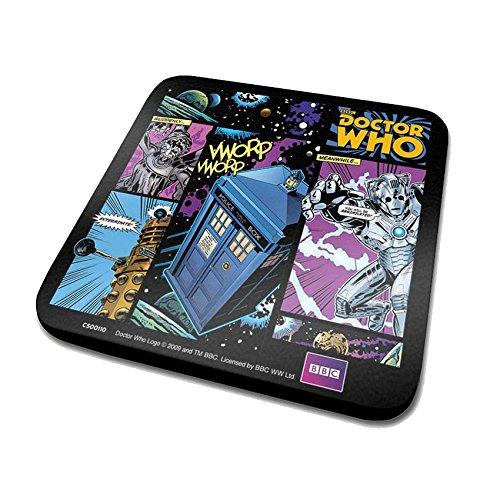 Fumetto Doctor Who-Sottobicchieri