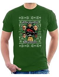 Merry Smeggin Christmas Red Dwarf Men's T-Shirt