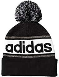 adidas Linear Bonnet Mixte Enfant, Black/Dark Grey Heather/Black, FR : Taille Unique (Taille Fabricant : OSFY)
