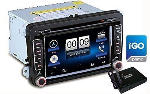 7 de coche reproductor de DVD multimedia-sistema de navegación para VW, Seat,...