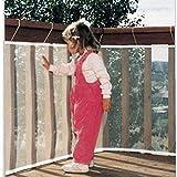 hibote Gros bébé Protection filet de sécurité du balcon Escaliers Gap avec flambage & Nouer (3m)