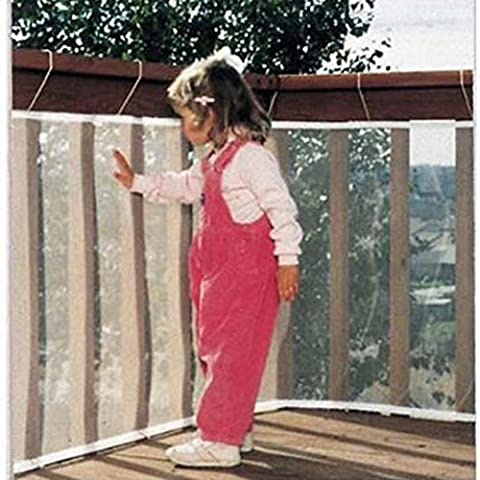 hibote Gros bébé Protection filet de sécurité du balcon Escaliers
