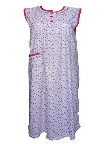 femiss - Chemise de nuit - Femme Bordeaux