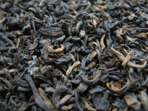CHINA PU ERH – schwarzer Tee – in Silver Dose (Teedose) – 90x90x112mm (200g)