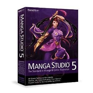 Manga Studio 5 ( Mac/Win engl) [import allemand]