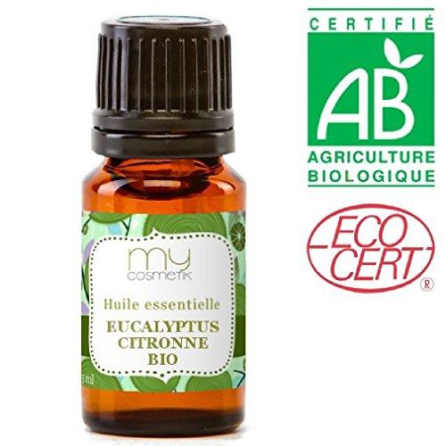 Huile essentielle d'eucalyptus citronné BIO - MyCosmetik - 10 ml