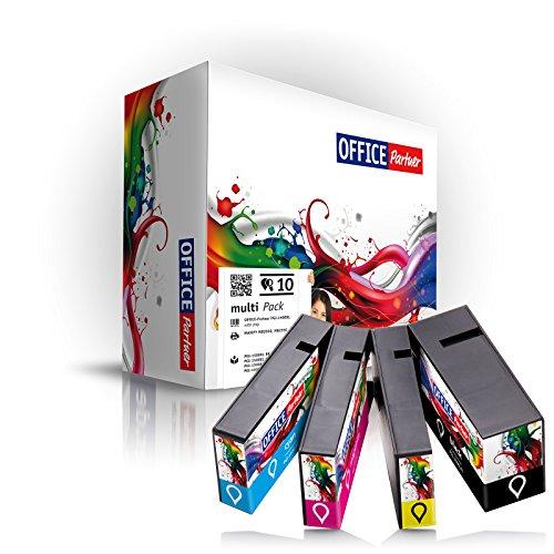 10er Multipack kompatible Druckerpatronen für Canon PGI 1500XL mit Chip schwarz Cyan Magenta gelb - passend für Maxify MB 2000 2050 2300 Series 2350 -