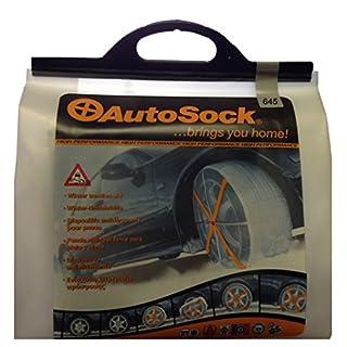 AUTOSOCK HP645 Sichere und Textile Anfahrhilfe für den PKW anstatt Schneeketten, Reifensocken für das Auto mit TÜV Zulassung