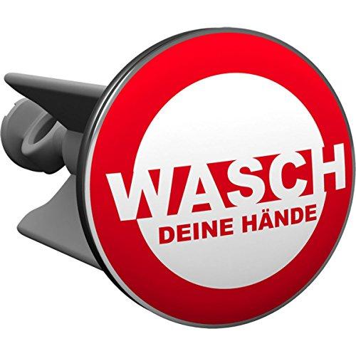 Plopp bonde Wasch Deine Hände, pour lavabo, bonde, bonde Excenter, déversoir