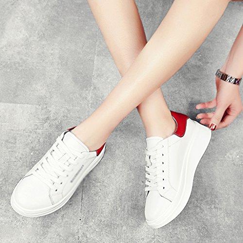 Sport Printemps Femme Chaussures Hwf Blanc qFIax