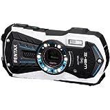 Pentax Optio WG-2 GPS Digital Camera - White (16MP, 12m Waterproof, 1.5m Shockproof, 5 x Wide Angle Zoom, Full HD Movie & GPS Function) 3 inch 16:9 LCD Screen