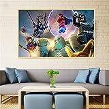 Cute Hero Poster erstaunliche leinwand Kunst malerei wandbild kinderzimmer Dekoration Cartoon pop Art Dekoration rahmenlose malerei 40X60 cm