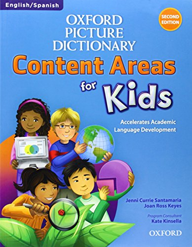 Oxford Picture Dictionary Content Areas for Kids: English-Spanish Edition (Oxford New Dictionary Picture)