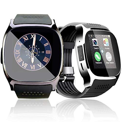 e-commerce coppola T8 Bluetooth Smart Watch, Touch Screen Smart Orologio Da Polso Con Telecamera SIM Card TF Per Samsung, Nexus, HTC, Sony ealtri Smartphone Android