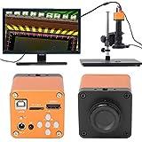 Fotocamera per microscopio, 21MP TF Pixel immagine Professionale Regolabile 16 milioni di pixel Microscopio industriale 100-240V(EU)