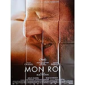 MON ROI Affiche de film 120x160 cm - 2015 - Vincent Cassel, Maïwenn