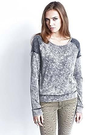 Sweater Minna Black Washed Blend She XS Women