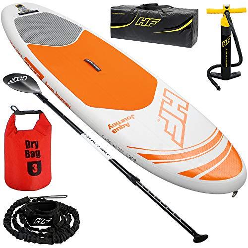 SUP Board - Hydro-ForceTM Set   inkl. 3L Drybag   für Beginner   bis 115kg   Stand Up Paddle Board -
