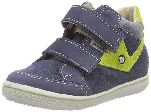 RICOSTA Jungen KIMO Hohe Sneaker, Blau (Reef/Lime 150), 24 EU