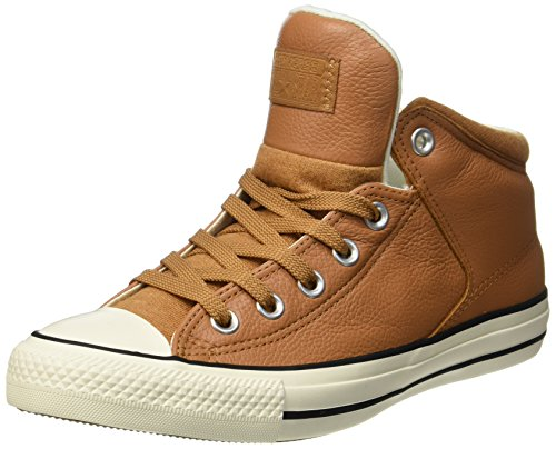 Converse Unisex Adults' Ctas High Street Hi Raw Sugar/Egret Hi-Top Slippers beige...