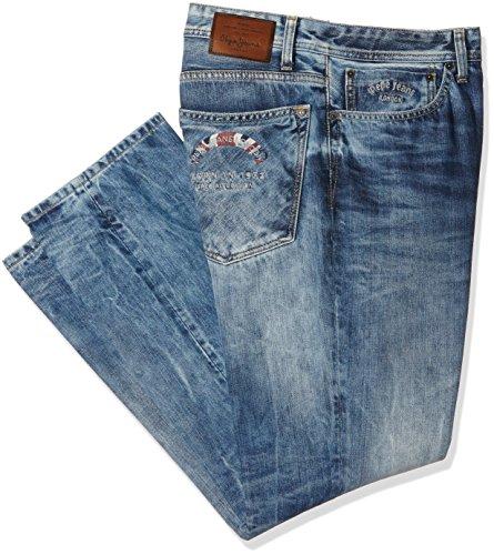 Pepe Jeans Edition - Jeans - Droit - Homme Bleu (Denim)