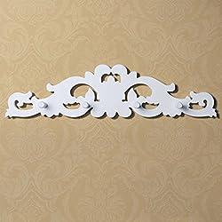 Creative light- Semplice moderna Appendiabiti appendiabiti a muro pareti in legno montato decorazioni Hook Up Abbigliamento a muro gancio chiave ( colore : #1 )