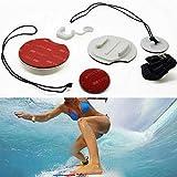 Ljourney Paquet 8 Pcs Planche de Surf Chaude FCS Kit Supports de Verrouillage Enfichable pour Caméra GoPro