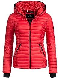 Navahoo Damen Jacke Übergangsjacke Steppjacke Kimuk (vegan hergestellt) 14 Farben + Camouflage XS-XXL
