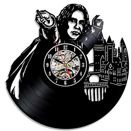 Harry Potter regalo de cumpleaños tema reloj de pared hecho a mano en