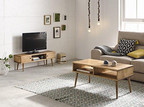 Hogar24-Conjunto 2 Muebles: Mesa Centro diseño Vintage