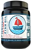 #5: Grizzly Nutrition - Sea Forage Omega 3 Fish Oil 1000 mg 100 Softgels, with 120 DHA , 180 EPA , 700mg Fish lipids, uncompressed - highly bio available