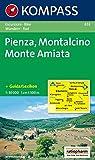 Kompass Karten, Pienza, Montalcino, Monte Amiata (Carte de Randon, Band 653) - 653 Kompass