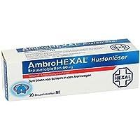 Preisvergleich für AmbroHexal Hustenlöser 60 mg, 20 St. Brausetabletten