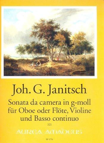 Preisvergleich Produktbild Sonata da camera g-Moll : für Oboe (Flöte),  Violine und Bc Partitur und Stimmen