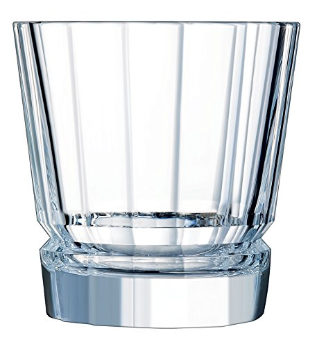 Cristal d'Arques 7501617 Boite de 6 gobelets Bas 38 cl-MACASSAR D'ARQUES, Cristallin, Transparent, 30,6 x 20,6 x 11,1 cm