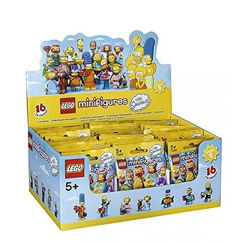 LEGO Minifigures – 71009 – Les Simpsons – Série 2 – 60 Sachets Mystères – Modèle Aléatoire