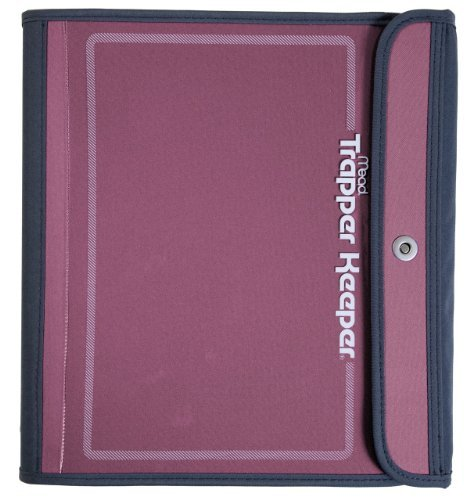 mead-trapper-keeper-sewn-binder-3-ring-binder-15-inch-pink-72179-by-mead