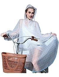 K-way Femme Poncho-pluie Capuche Imperméable Vêtement de pluie Transparent - Très Chic Mailanda