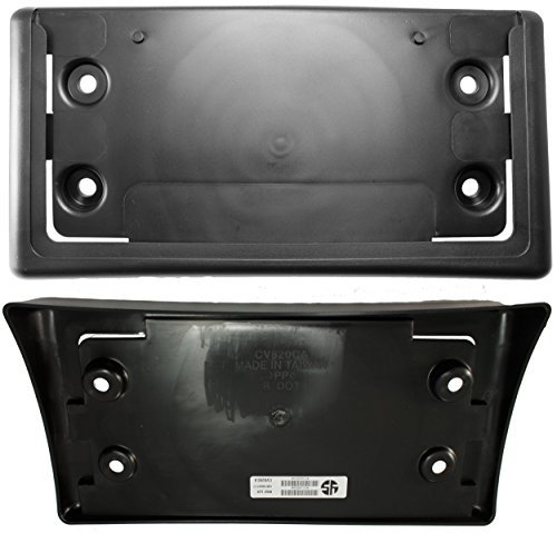 apdty-15032014-license-plate-holder-bracket-for-front-of-2002-2009-chevy-trailblazer-2002-2009-gmc-e