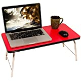 MULTI - TABLE Foldable Laptop Table, Portable Standing Bed Desk, Foldable Sofa Breakfast Tray, Notebook Stand Reading Holder for Couch Floor MT-BT-011 (Color May Vary)